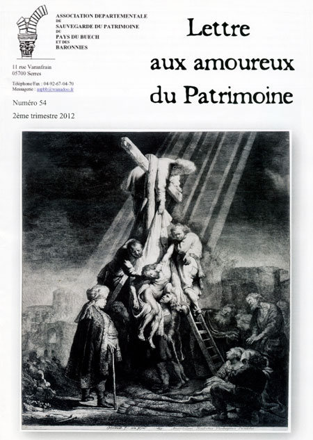 Bulletin n°54 couverture