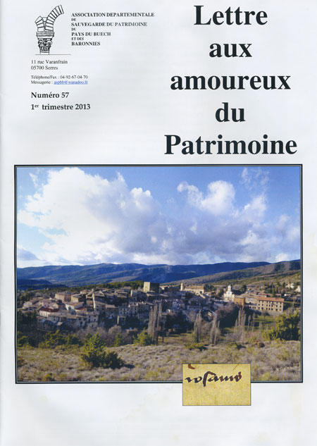 Bulletin n°57 couverture