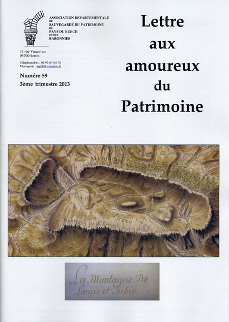 Bulletin n°59 couverture